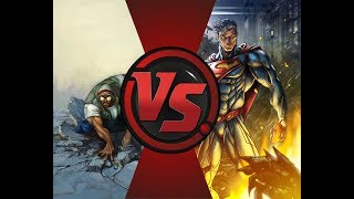 ХЭНКОК ПРОТИВ СУПЕРМЕНА (HANCOCK VS SUPERMAN)