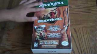 Unboxing Wii Remington Great American Bird Hunt