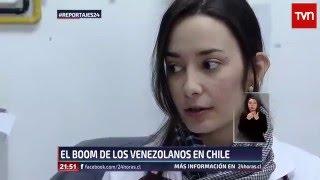 Reportajes - El boom de la colonia venezolana en Chile