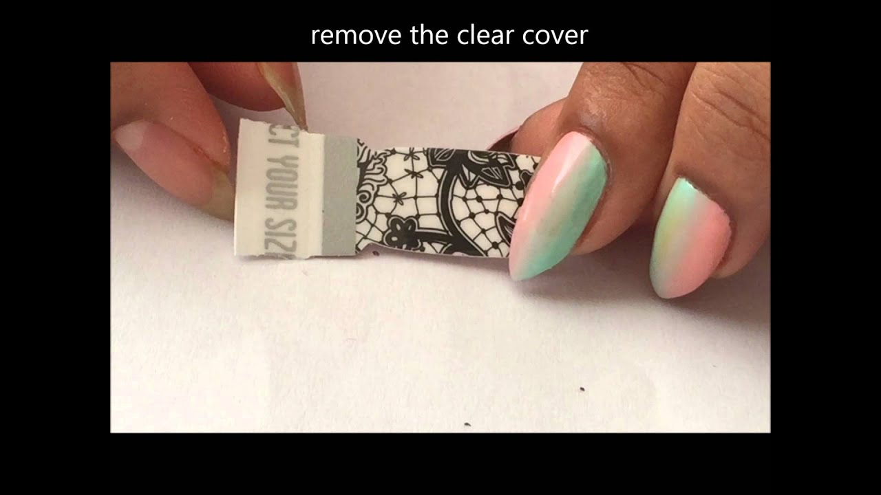 Thumbs Up Designer Nail Wraps Overlay Effect Review And How To