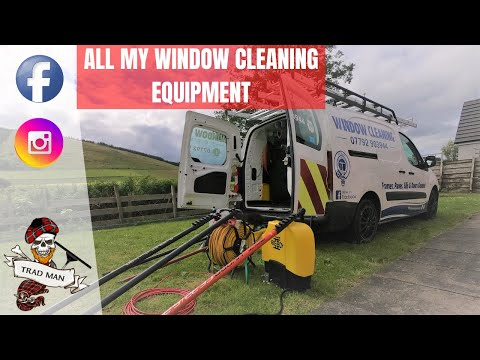 ALL MY WINDOW CLEANING EQUIPMENT