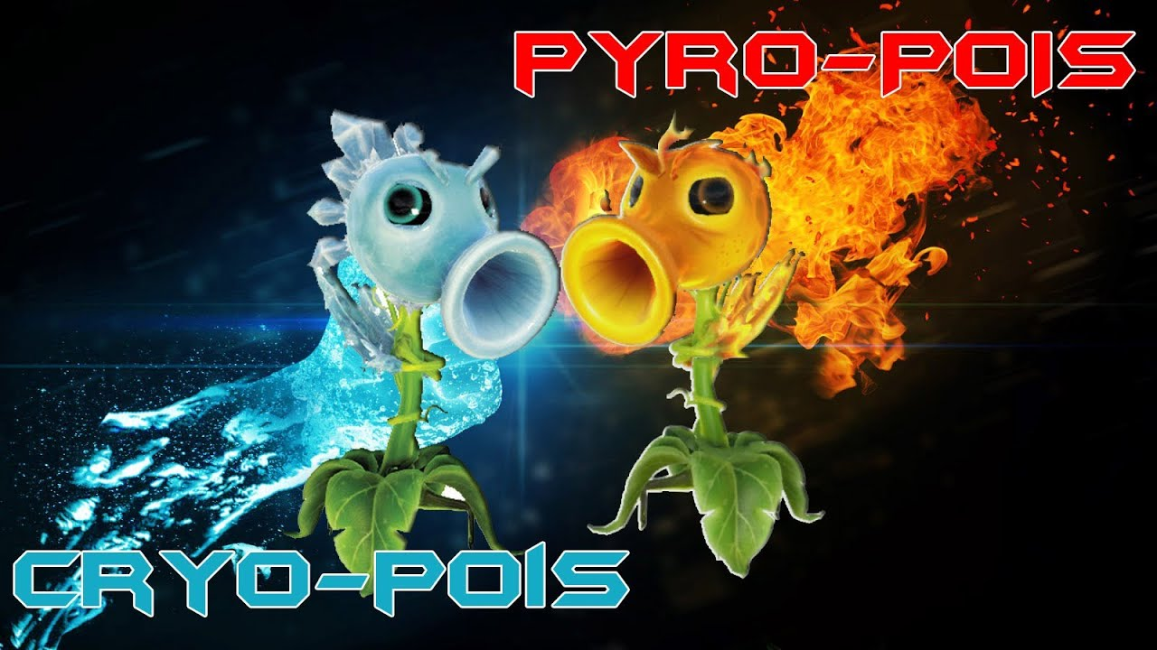 Pvz garden warfare 10 fr xbox one pyro et cryo pois for Plante vs zombie garden warfare 2