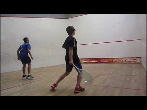 French Junior Open, BU13, Semi-final, Caleb Boy [5/8] Bt Daniel Lewis [13/16]