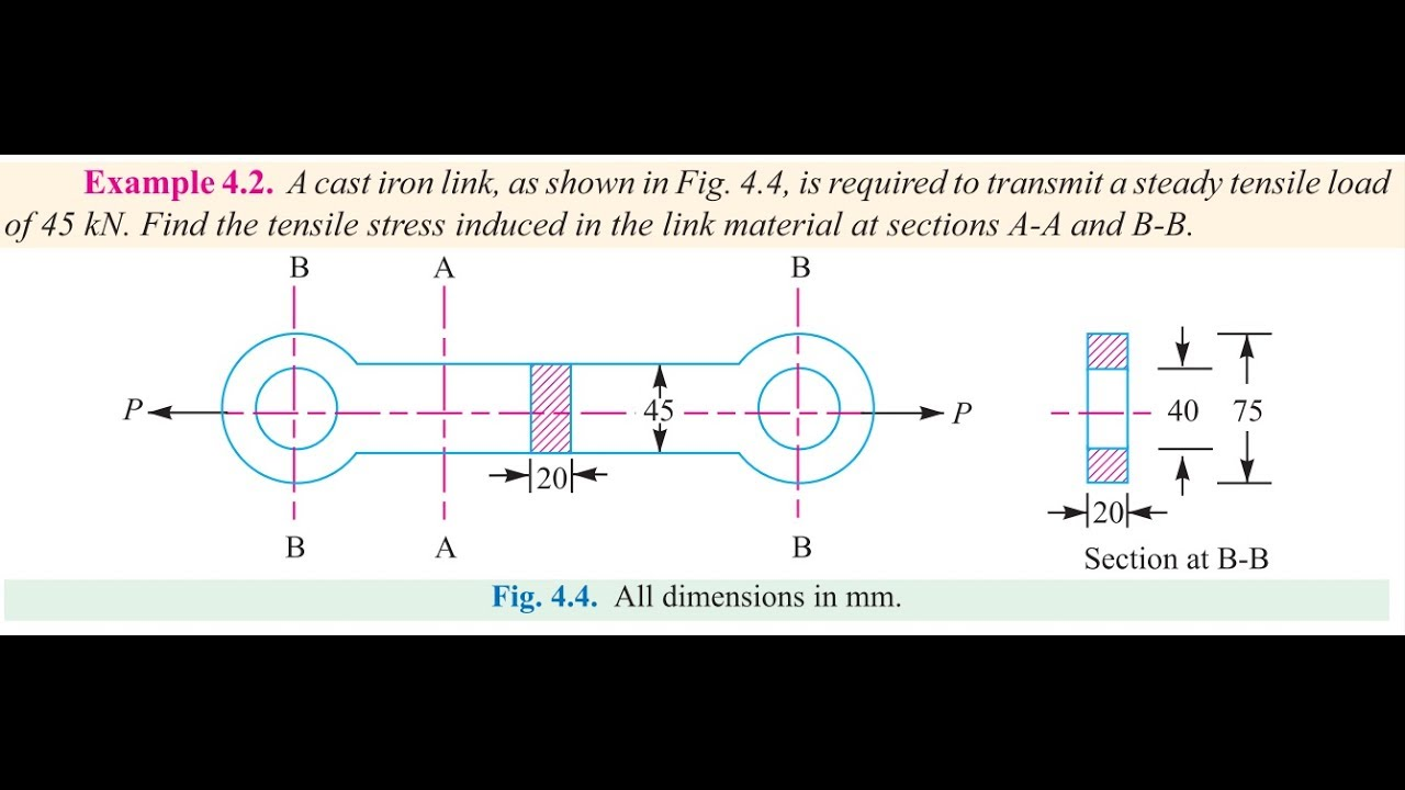 Creo 3 0 cast iron link analysis compare with theoritical creo 3 0 cast iron link analysis compare with theoritical calculation tutorial1 ccuart Gallery