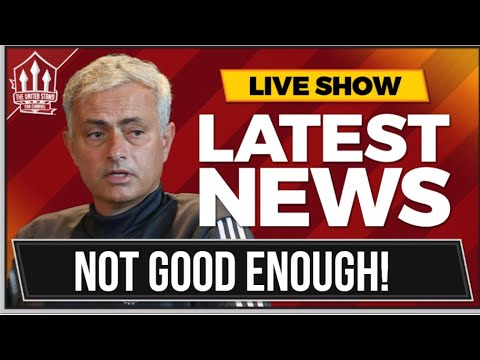 Jose Mourinho Press Conference Reaction! Man Utd Transfer