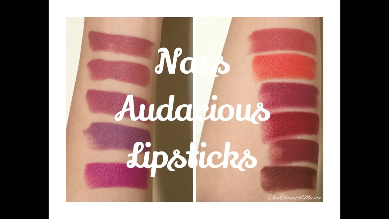 Extrêmement NARS Audacious Lipsticks | Swatches, Demos, & Review  TB99