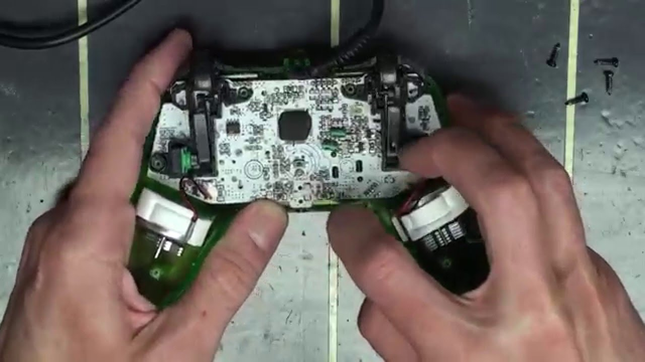 Left Trigger Xbox 360 Controller Wiring Diagram Explained Remote Power A Mini Pro Ex Button Repair Youtube Headset Wire
