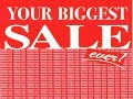 Retail Sale Signs and Displays