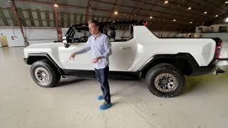 The HUMMER is back - and this time it's an all-electric super truck!