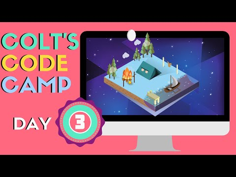 Colt's Code Camp Day 3 - HTML Tables & Entities