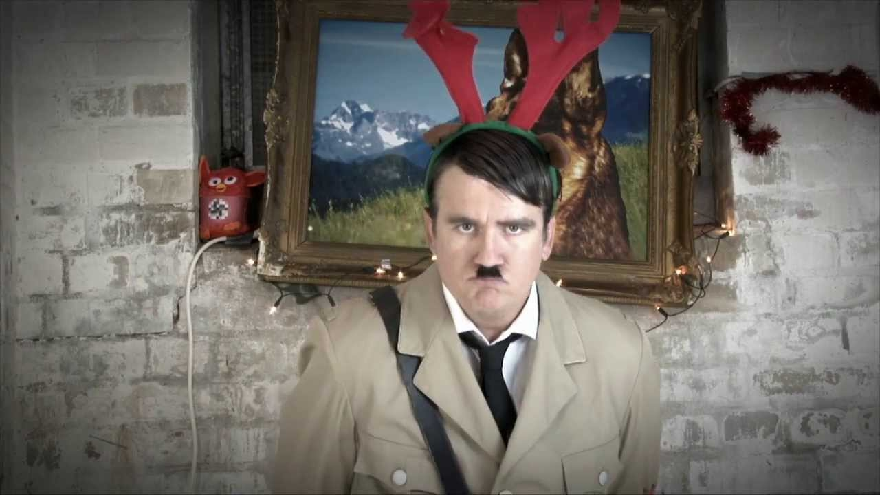 last christmas weihnachten mit hitler youtube. Black Bedroom Furniture Sets. Home Design Ideas