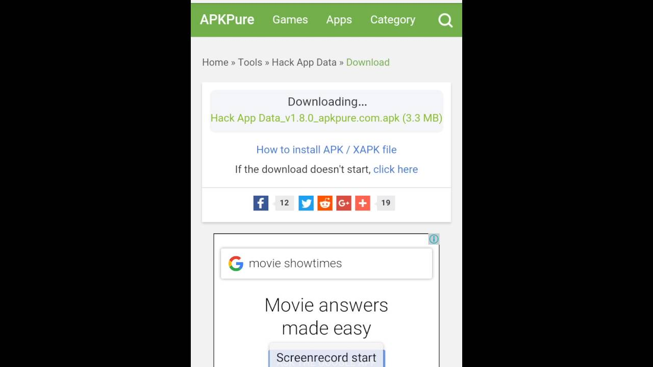 Hack app data download link in the description below