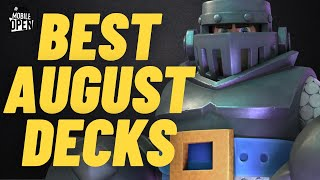 Two Decks that DESTROYED in Competitive Clash Royale (August 2021 ESL)