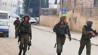 Hebron Schools Gassed, Salaymeh, Dec 16, 2018