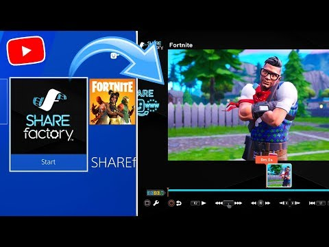How To Make 3D FORTNITE THUMBNAILS On Sharefactory (EASY)