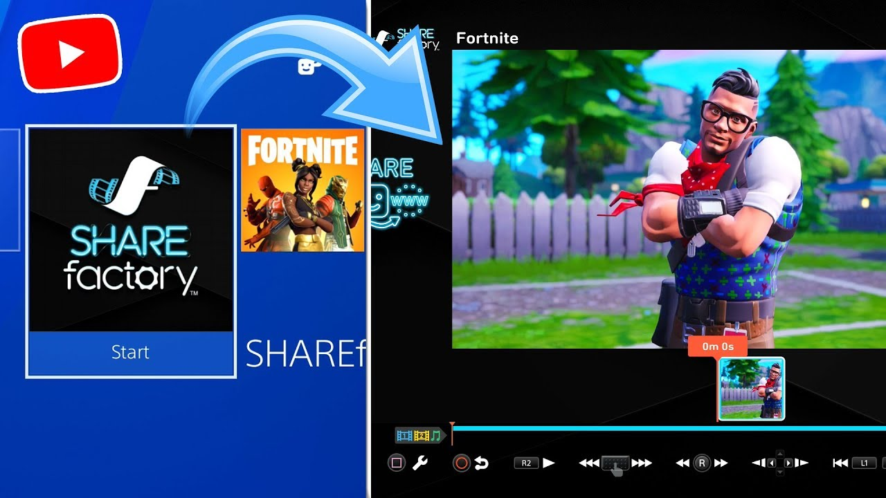How To Make 3d Fortnite Thumbnails On Sharefactory Easy