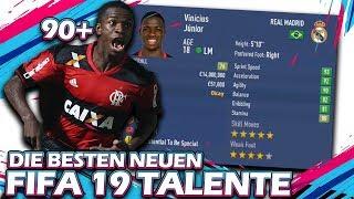 DIE BESTEN 10 NEUEN TALENTE IN FIFA 19 !! 🔥