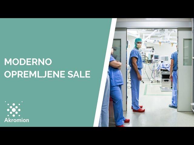 Specijalna bolnica Akromion - Nova operacijska sala