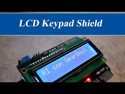LCD Keypad Shield | RincónIngenieril con GearBest