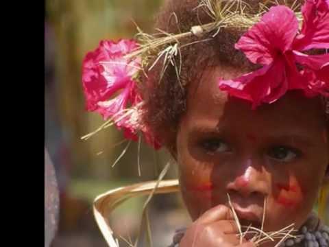The people from Papua Melanesia Oceania