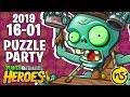 Fiesta De Puzzles (16/01/19) | PvZ Heroes | Reto Diario