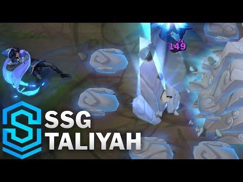 SSG Taliyah Skin Spotlight - League of Legends - YouTube