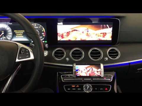 Mercedes E class W213 Wireless Mirrorlink aftermarket