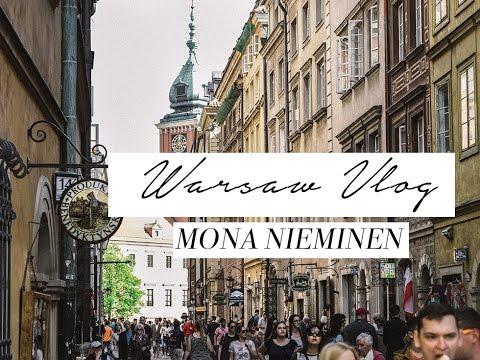 Warsaw weekend trip | Mona Nieminen Vlog