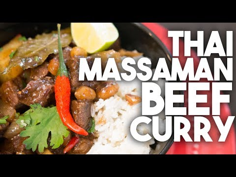 Thai Massaman Beef Curry Inspired By Poo Of Jamie