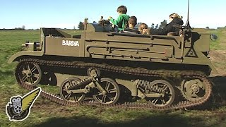 Australian-built WW2 Machine Gun Carrier (AFV)