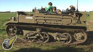 Australian-built WW2 Machine Gun Carrier (AFV)