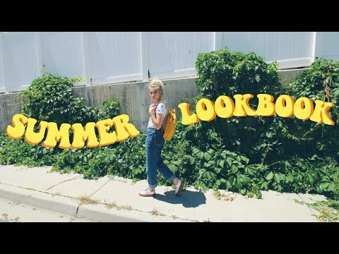 Summer Outfit Lookbook 2017