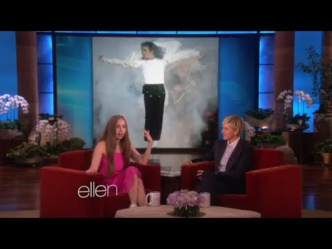 Lady Gaga Talks the Fashion of Michael Jackson on Ellen show