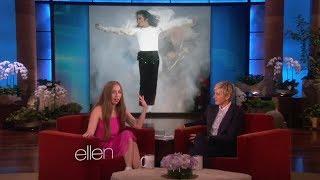 Lady Gaga Talks the Fashion of Michael Jackson on Ellen show