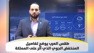 طقس العرب يوضح تفاصيل المنخفض الجوي الذي أثر على المملكة