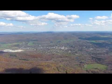 Summit views of Mt. Greylock, MA