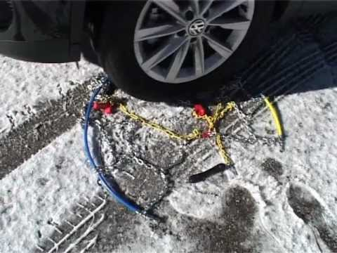 POLAIRE XP16 : Snow Chain removing - Chaine à neige démontage