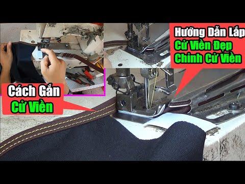 Cách Gắn Cử Viền Máy Kansai   Cách Chỉnh Cử Viền Đẹp   Chỉnh Cử Viền 1 Mép Đẹp   #nganhmaymac