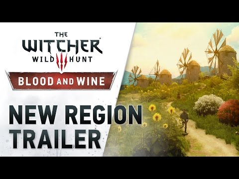 """The Witcher 3: Wild Hunt -- Blood and Wine """"New Region"""" Trailer"""