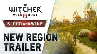 the witcher 3 wild hunt blood and wine new region trailer