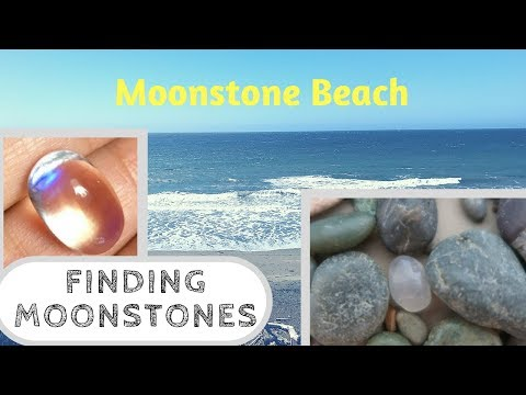 Finding Cambrian Moonstones On Moonstone Beach - Cambria, CA - Rockhounding - Crystal Collector