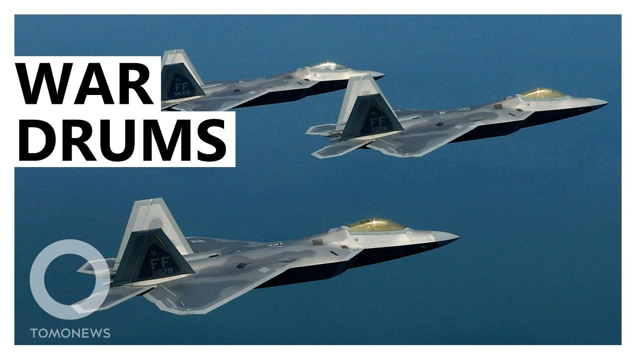 U.S. Sends Large F-22 Force to Counter China