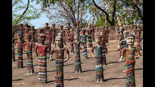 Chandigarh's art Rock Garden - the Park Guell of India!