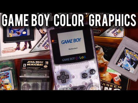 How Graphics worked on the Nintendo Game Boy Color   MVG
