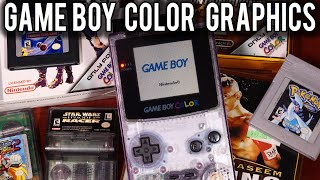 How Graphics worked on the Nintendo Game Boy Color | MVG