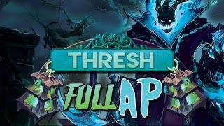 ESPARTACO AZUL | THRESH FULL AP MID ( Parodia ) League of Legends