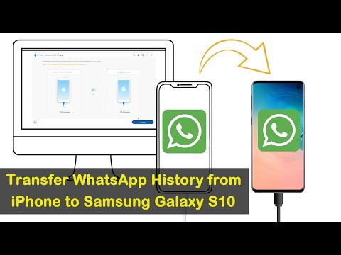 How to Move WhatsApp Messages to New Phone - Galaxy S8 / S9