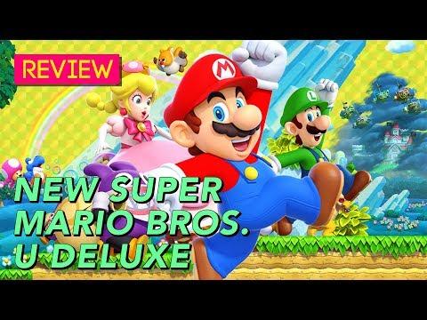 New Super Mario Bros U Deluxe The Kotaku Review Youtube