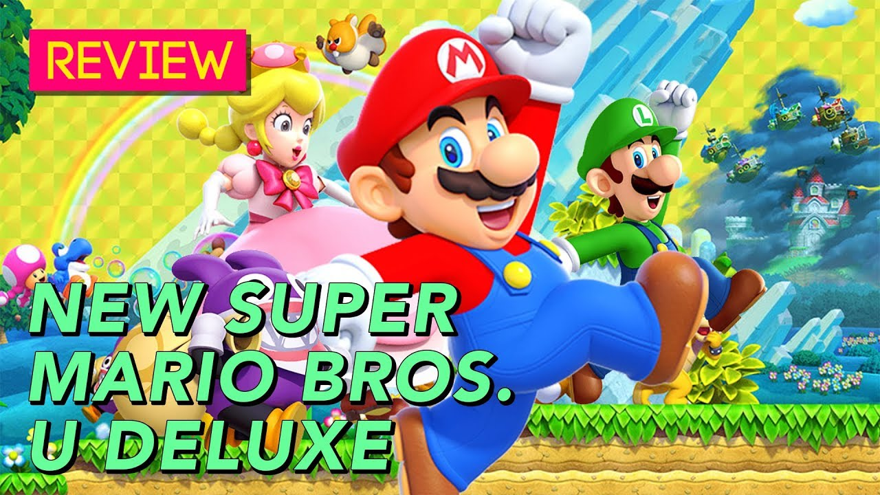 New Super Mario Bros U Deluxe The Kotaku Review Youtube