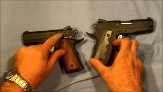 Rock Island / ATI Compact 1911 comparison